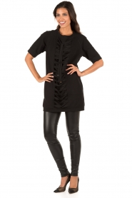 ELISABETTA FRANCHI |  Tunic dress Benissimo | black  | Picture 6