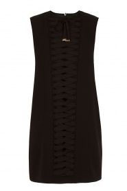 Lace-up dress Ballare | Black