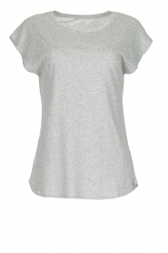 Juvia | Katoenen T-shirt Galaxy | grijs  | Afbeelding 1