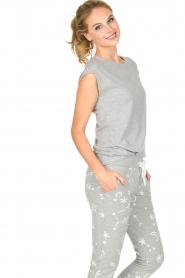 Juvia | Katoenen T-shirt Galaxy | grijs  | Afbeelding 4