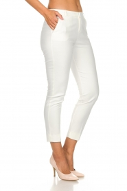 Aaiko |  Trousers Parene | white  | Picture 4