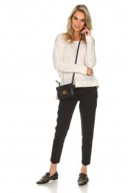 Aaiko | Klassieke pantalon Parene | zwart  | Afbeelding 2