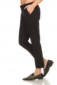 Aaiko | Klassieke pantalon Parene | zwart  | Afbeelding 4