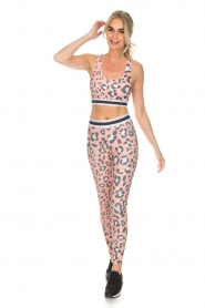 Juvia |  Sports leggings Steph | pink  | Picture 3