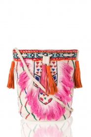Antik Batik | Schoudertas Tiadoro | wit  | Afbeelding 1