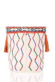Antik Batik | Schoudertas Tiadoro | wit  | Afbeelding 4