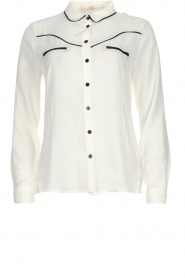 Aaiko |  Blouse Finou | white  | Picture 1