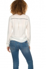 Aaiko |  Blouse Finou | white  | Picture 5