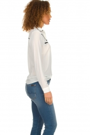 Aaiko |  Blouse Finou | white  | Picture 4