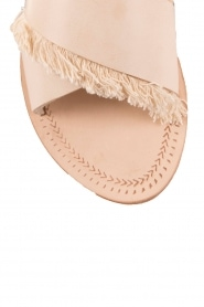 Antik Batik | Leren slippers Alba | nude  | Afbeelding 5