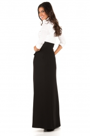 Highwaist maxi skirt Carino | black