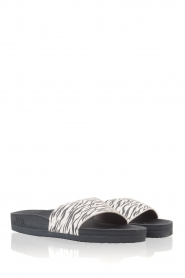 Juvia |  Flip-flops Zebra | black & white  | Picture 3