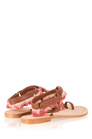 Antik Batik | Leren sandaal Leena | bruin  | Afbeelding 4