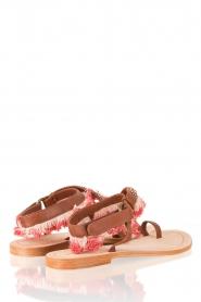 Leren sandaal Leena | bruin