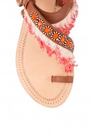 Leather sandal Leena | brown