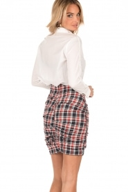 High-waist skirt Fabuloso | red