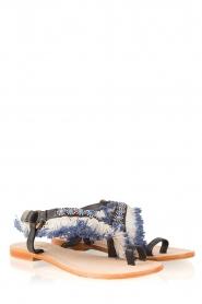 Antik Batik | Leren sandaal Leena | bruin  | Afbeelding 3
