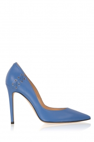 ELISABETTA FRANCHI | Leren pumps Alta | blauw  | Afbeelding 1