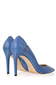ELISABETTA FRANCHI | Leren pumps Alta | blauw  | Afbeelding 4