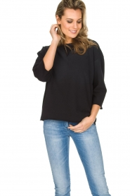 Ruby Tuesday |  Sweater Lilly | Black  | Picture 3