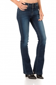 Lois Jeans | Flared jeans Melrose lengtemaat 34 | blauw  | Afbeelding 2