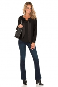 Lois Jeans | Flared jeans Melrose lengtemaat 34 | blauw  | Afbeelding 3