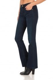 Lois Jeans | Flared jeans Melrose lengtemaat 34 | blauw  | Afbeelding 4