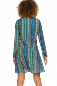 Aaiko |  Dress with colourful print Yael | multi  | Picture 5