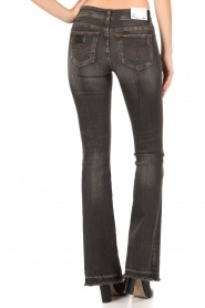 Lois Jeans | Flared jeans Melrose lengtemaat 34 | donkergrijs  | Afbeelding 5