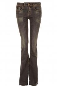 Lois Jeans | Flared jeans Melrose lengtemaat 34 | donkergrijs  | Afbeelding 1
