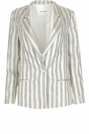 Ruby Tuesday |  Linen blazer Macy | grey  | Picture 1