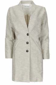 Ruby Tuesday |  Coat Erva | grey  | Picture 1