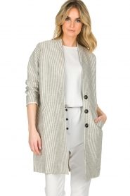 Ruby Tuesday |  Coat Erva | grey  | Picture 4