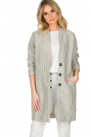 Ruby Tuesday |  Coat Erva | grey  | Picture 2