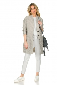 Ruby Tuesday |  Coat Erva | grey  | Picture 3