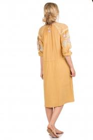 Antik Batik | Jurk Danah | geel  | Afbeelding 4
