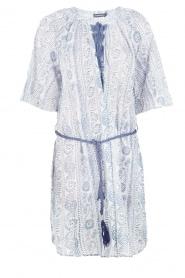Antik Batik | Jurk Twan | print blauw  | Afbeelding 1