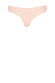 Hanro |  Seamless thong Invisible Cotton | pink  | Picture 1
