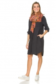 Ruby Tuesday |  Tunic dress Isy | blue  | Picture 3