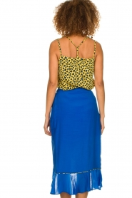 Aaiko |  Midi skirt with ruffles Tisadee | blue  | Picture 5