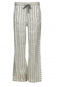 Ruby Tuesday |  Striped pants Nis | grey & white  | Picture 1