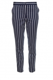 Aaiko |  Striped pants Parien | blue