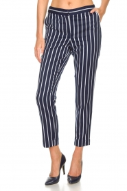 Aaiko |  Striped pants Parien | blue  | Picture 3