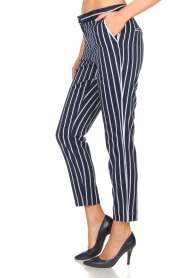 Aaiko |  Striped pants Parien | blue  | Picture 4