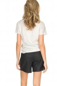 Ruby Tuesday | Leren shorts Lana | Zwart  | Afbeelding 5