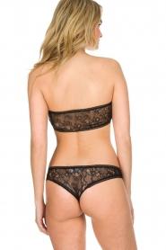 Ruby Tuesday |  100% cotton lingerie set | black  | Picture 4
