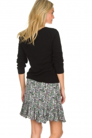 Aaiko |  Snake print skirt with ruffles Sillo | multi  | Picture 5