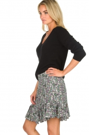 Aaiko |  Snake print skirt with ruffles Sillo | multi  | Picture 4