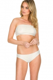 Ruby Tuesday | 100% katoenen lingerieset Anny | naturel  | Afbeelding 2