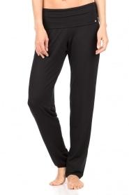 Hanro | Sweatpants Yoga | zwart   | Afbeelding 2